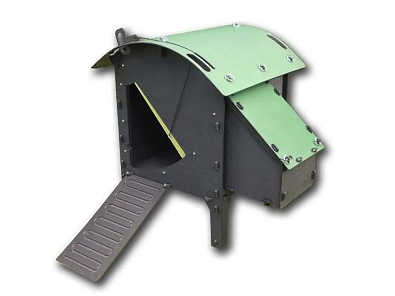 Green Frog Chicken Lodge Small